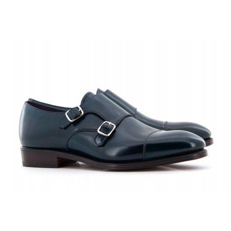 EXCLUSIVITE UPPER SHOES BOUCLE 80250 Boucles à bout droit cuir cordovan #uppershoes #carmina #cordovanleather #cordovan