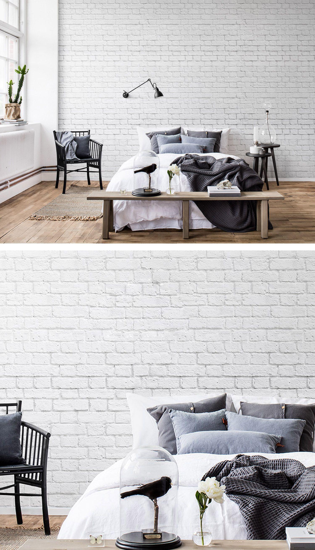 Soft Bricks | Tapeten für\'s Schlafzimmer | Pinterest | Schlafzimmer ...