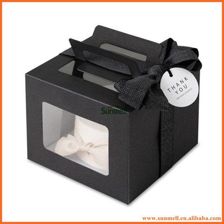 disposable pop custom black cake boxes buy black cake boxes pop