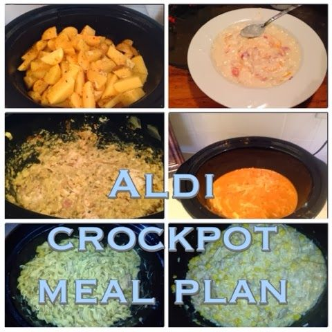 wishes do come true aldi meal planner crockpot edition. Black Bedroom Furniture Sets. Home Design Ideas