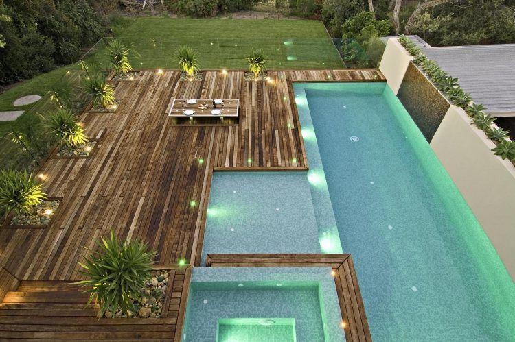 Aménagement jardin et terrasse 23 idées fantastiques pour vous Room - amenagement jardin avec spa