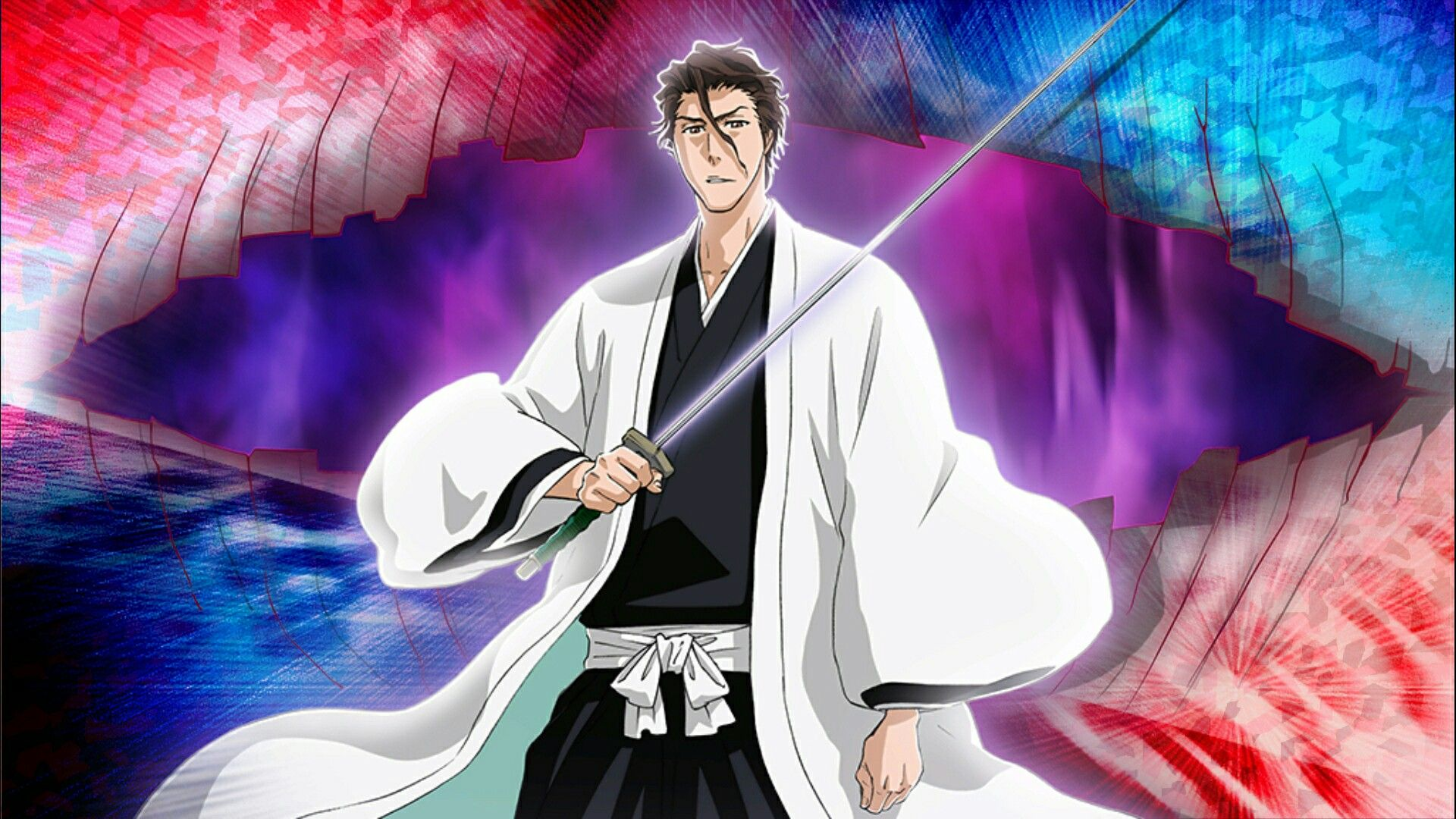 bleach brave souls aizen sousuke 5 aizen pinterest. Black Bedroom Furniture Sets. Home Design Ideas