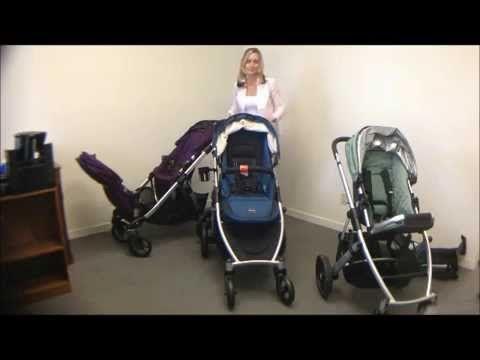 A Convertible Stroller Smackdown This Video Shows The Pros And Cons Of Britax B Ready Baby Jogger City Select Uppababy Vista