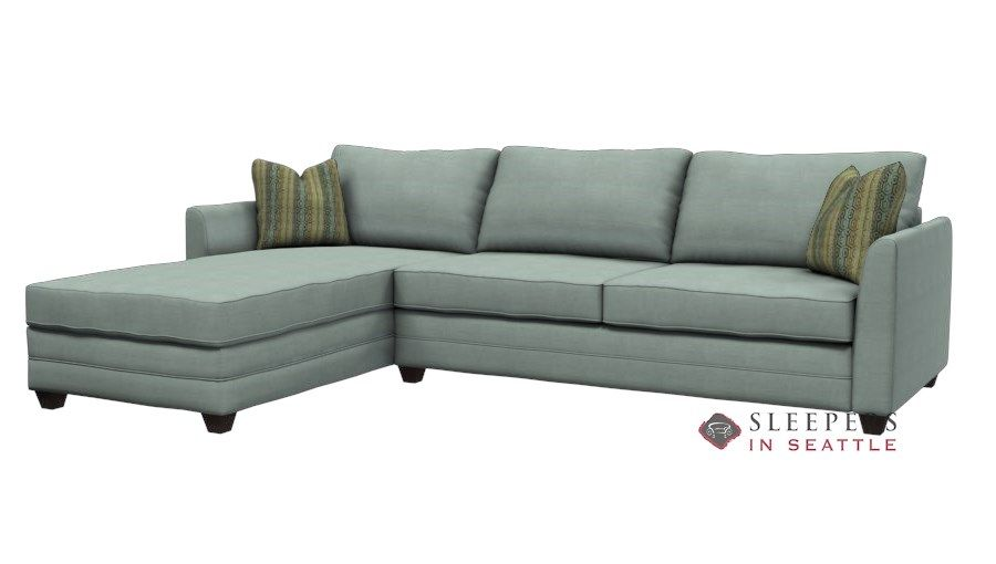 savvy valencia compact chaise sectional queen sleeper sofa with rh pinterest es