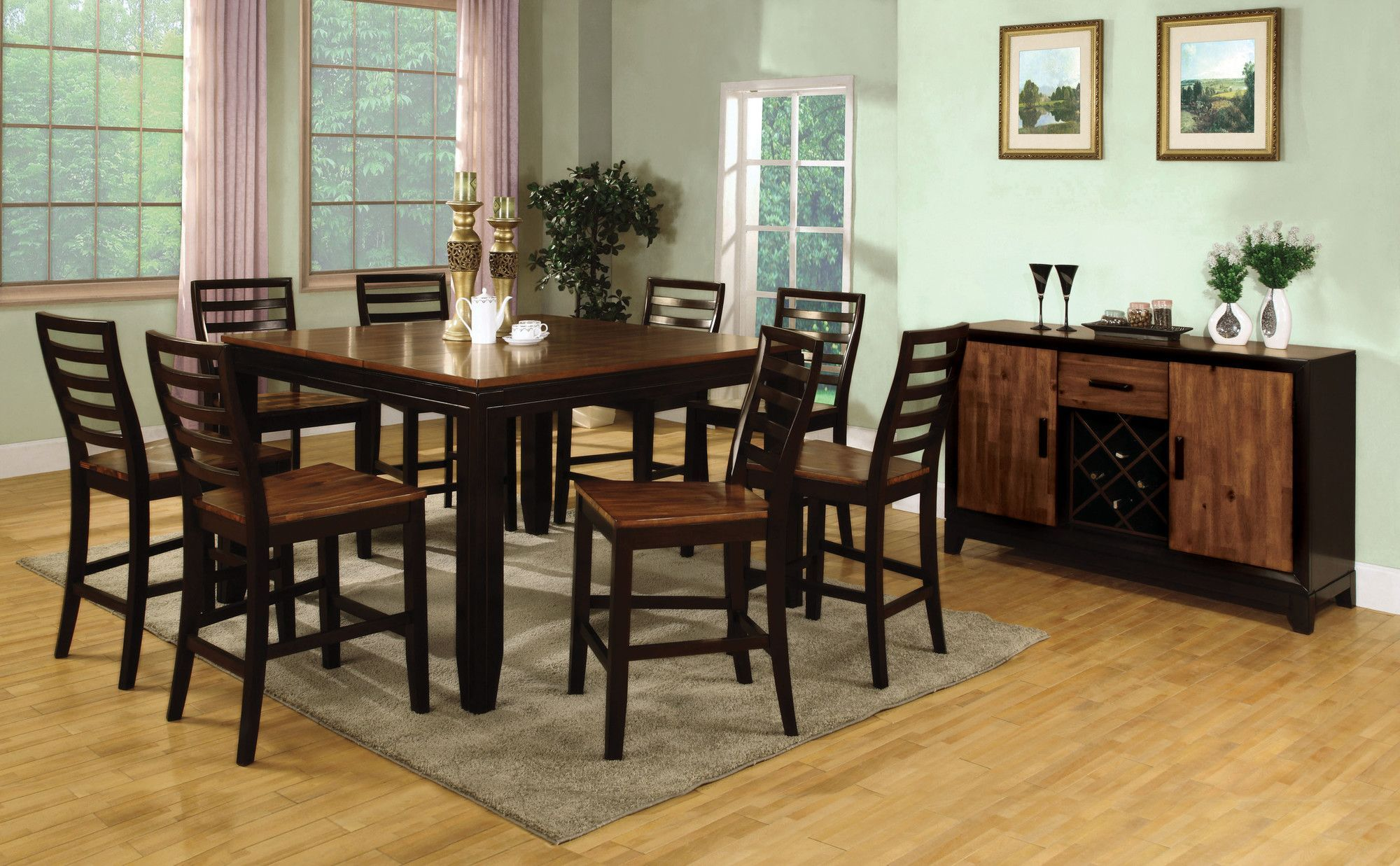 Marion Acacia Counter Height Dining Table Marion