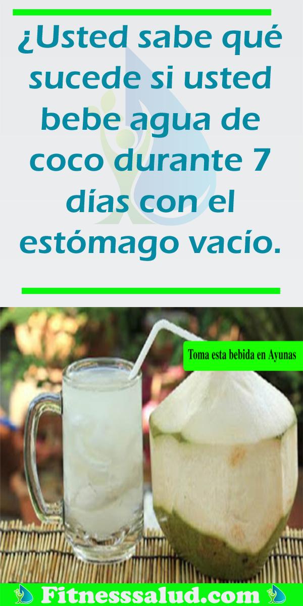beneficios del agua de coco para el estomago