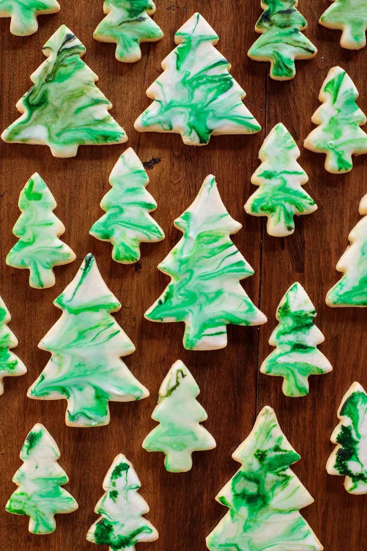 Christmas Tree Shortbread Cookies Recipe Christmas Cookies Easy Shortbread Cookies Christmas Shortbread Cookies