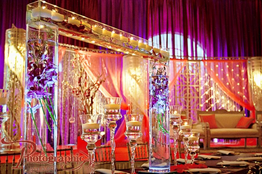 wedding stage decoration pics%0A Walima Photography of Shazia and Yasir at Foxchase Manor in Northern  Virginia