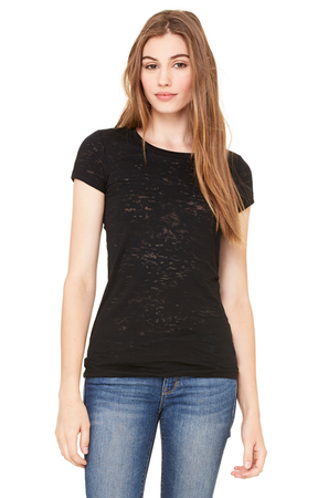 7611f96b0881 Bella+Canvas 8601 Ladies  Burnout Short-Sleeve T-Shirt - JiffyShirts ...
