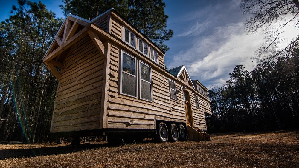 Tiny House for Sale Rustic Goosneck Tinyhouse 39ft