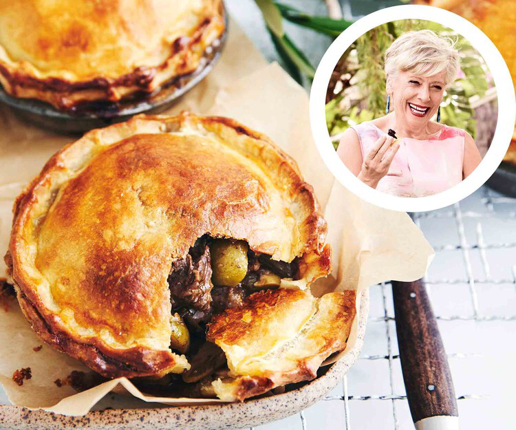 Maggie Beer S Beef Meat Pie With Sour Cream Pastry Homes To Love Beer Recipes Sour Cream Pastry Meat Pie