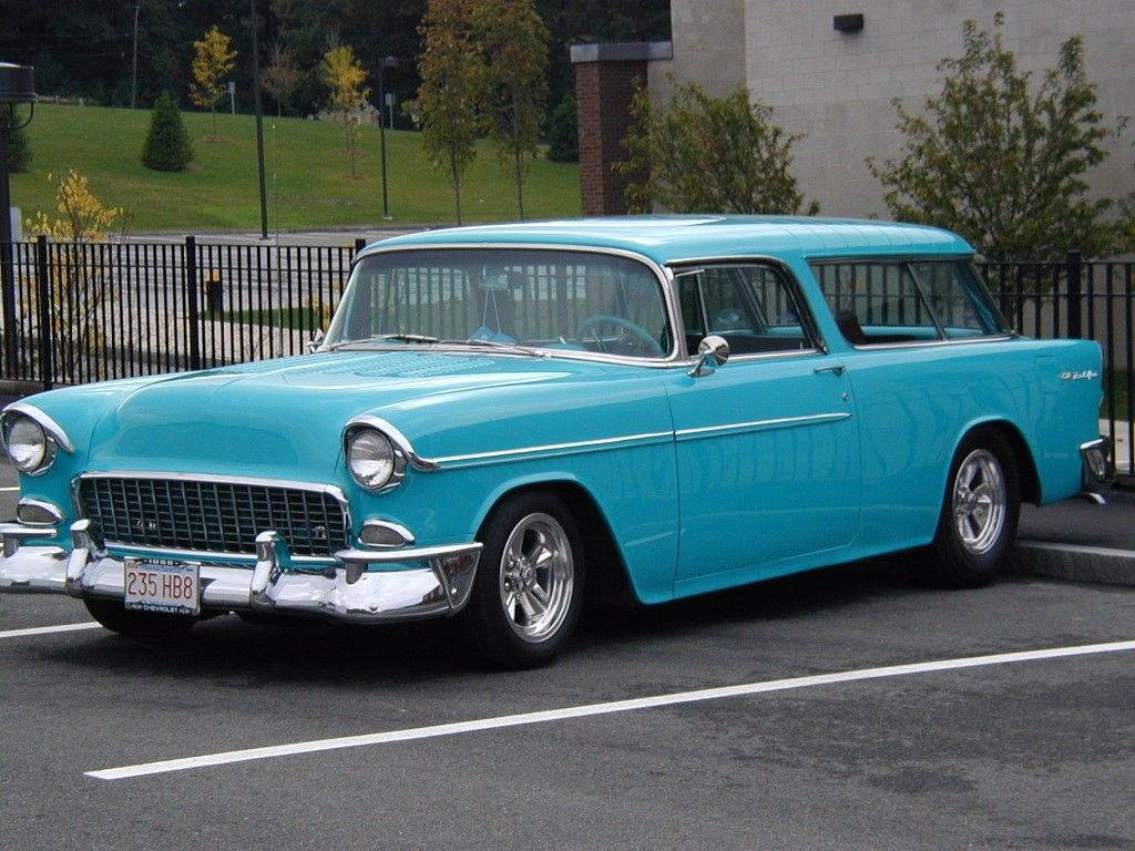 55 Nomad Classic Cars Chevy Nomad 55 Chevy