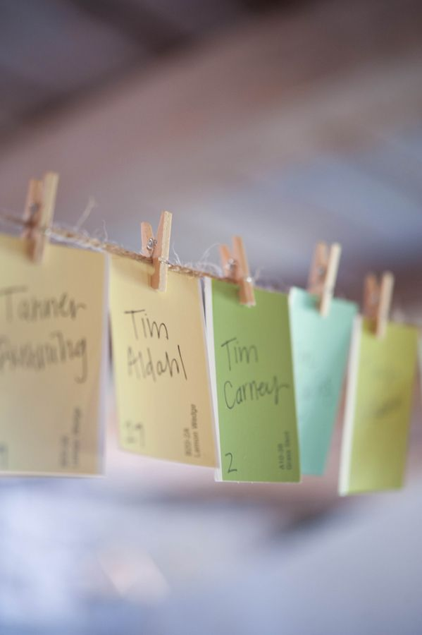 craft ideas for wedding place cards%0A Bridal