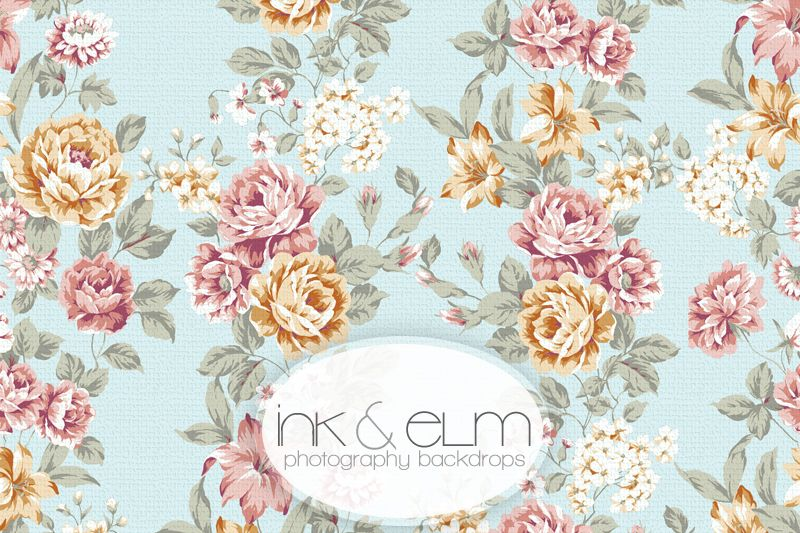Photography Backdrop Vintage Floral Sky With Images Vinyl Photo Backdrops