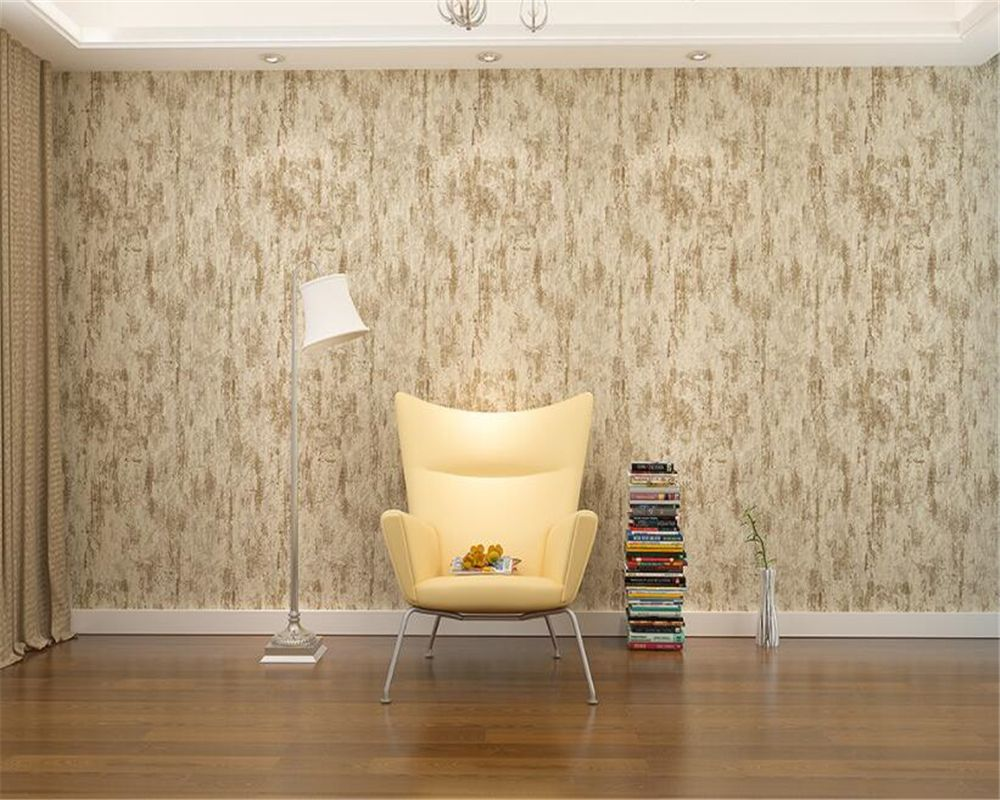 Beibehang Pure Color Wallpaper Bedroom Warm Living Roo
