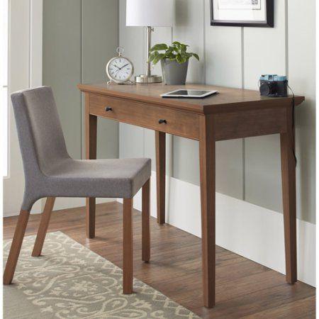 10 Spring Street Burlington Collection Desk Multiple Colors Walmart Com Home Office Design Home Office Furniture Home Office Decor