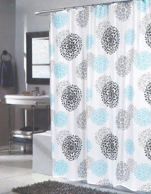 Spring Bloom Extra Long Fl Fabric Shower Curtain Size 70 X 84 Oakland House Pinterest Sizes And Products