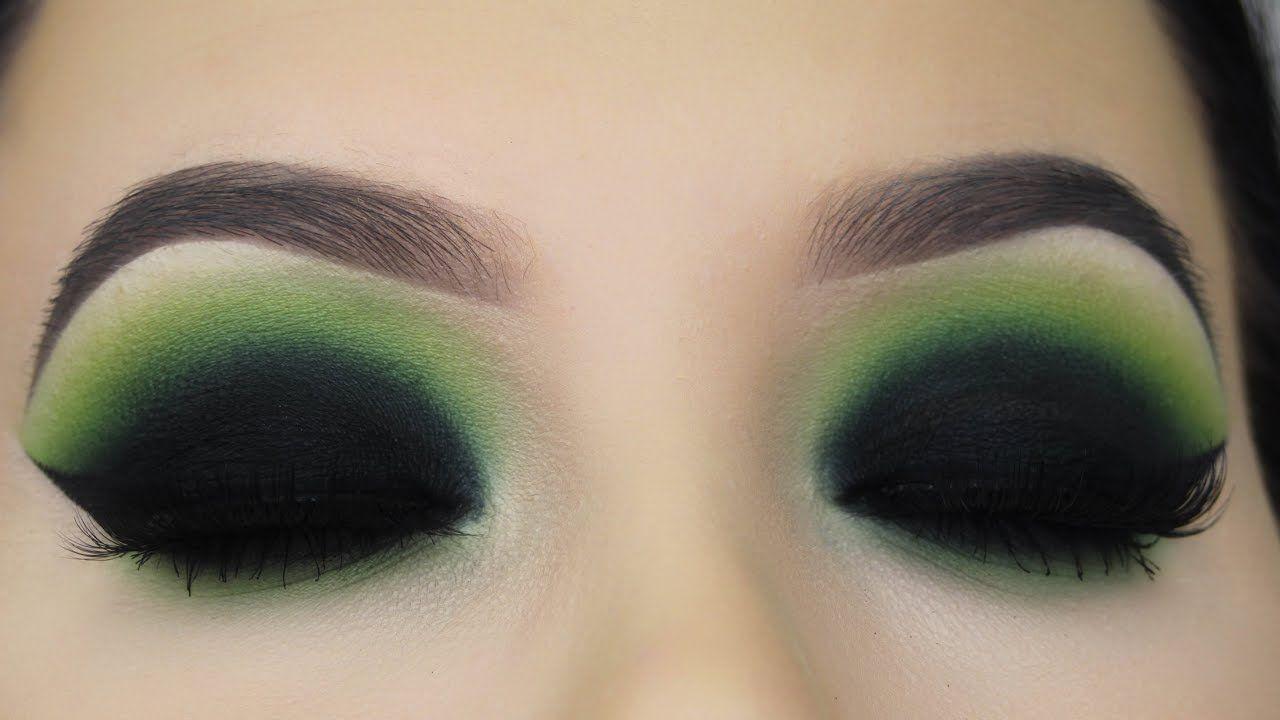 Poison Green Smokey Eyes Tutorial