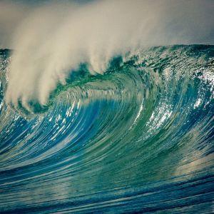 Blue Green Wave - Manhattan Beach, California.  All Images For Sale.