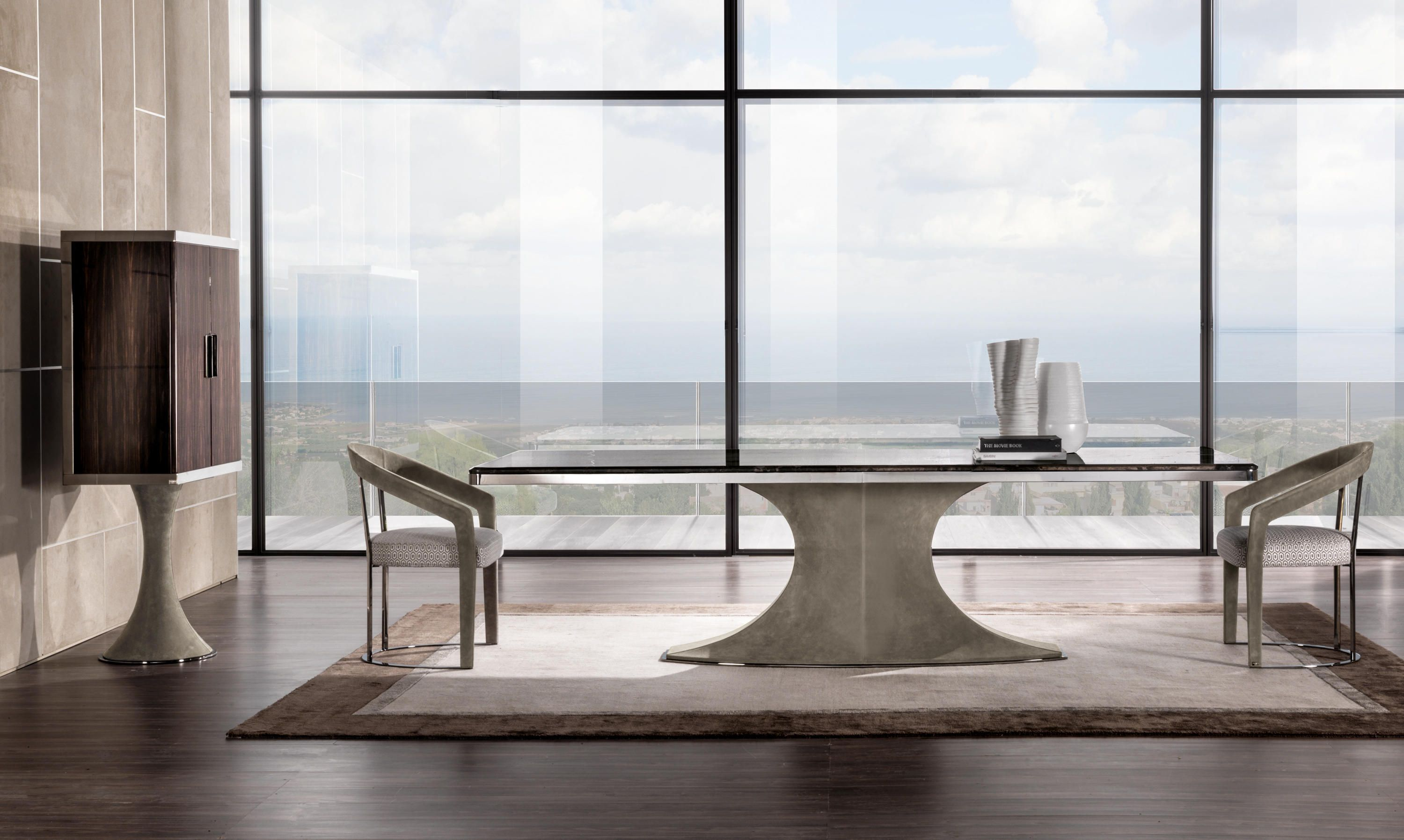 Hubert Designer Dining Tables From Longhi S P A All