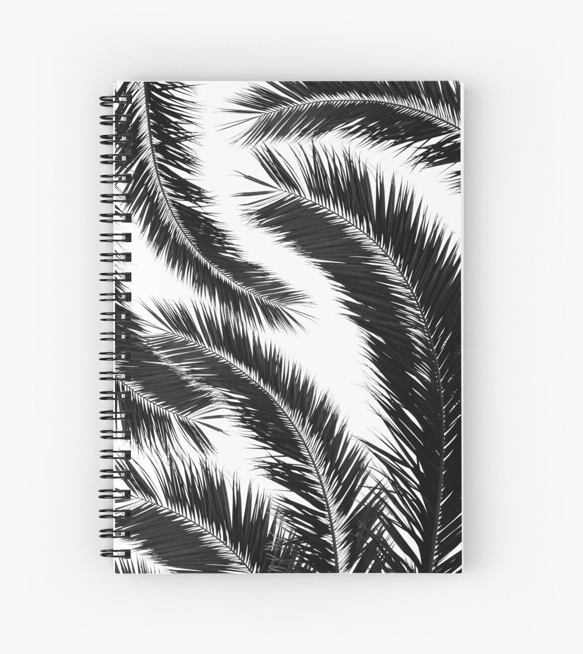 'Bohemian Palms Jungle Pattern #1 #tropical #decor #art' Spiral Notebook by anitabellajantz #junglepattern