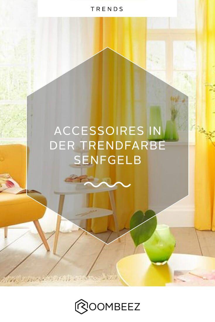 Trendfarbe Senfgelb Deko und Wohnaccessoires in Gelb
