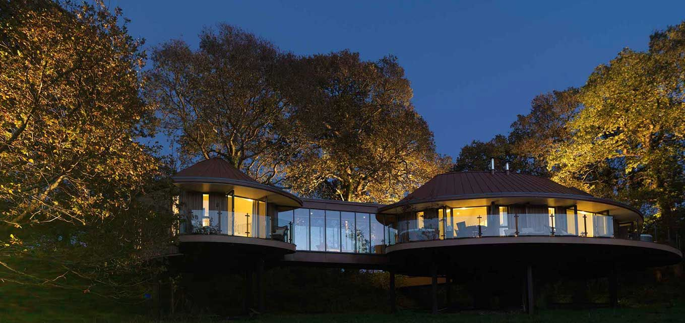 Blue Forest Were Roached By Chewton Glen Hotel To Ist With The Design Of Six Distinctive Luxurious And Sustainable Tree House Suites