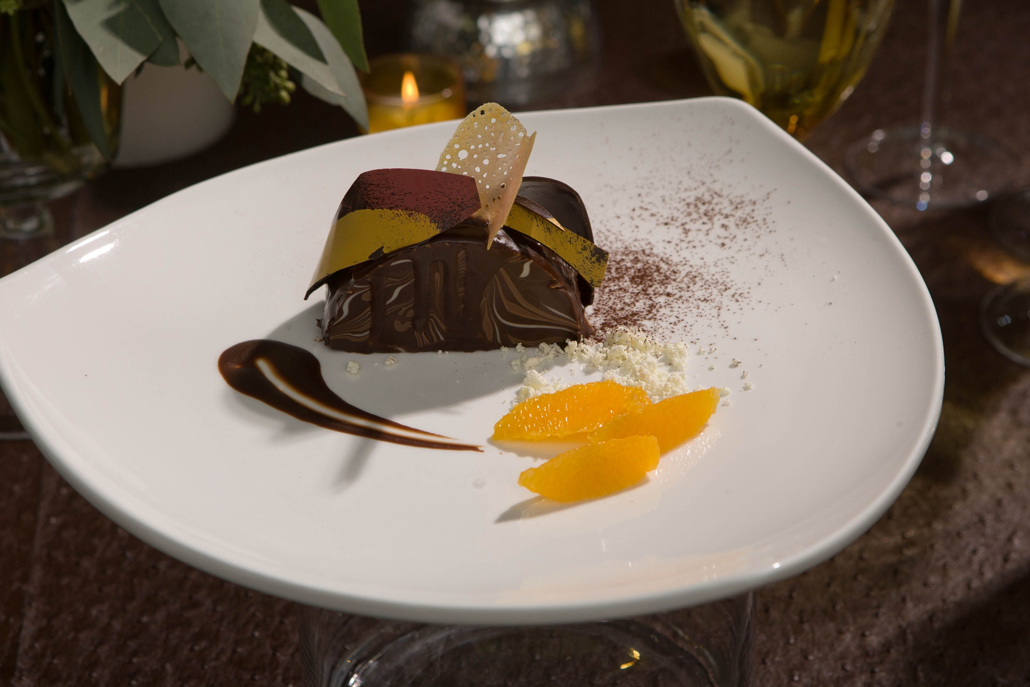 An elegant plated dessert to wow your guests. | Fancy ...