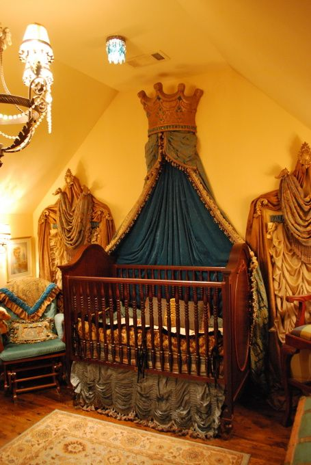 Old World Crown Decor My Son S French Victorian Nursery This Is Our