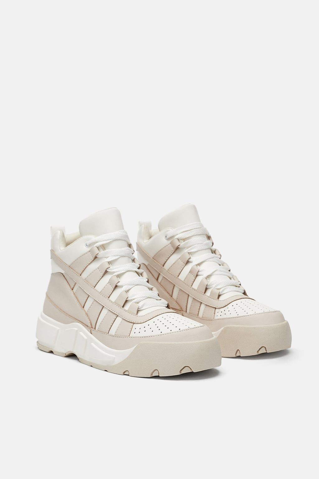 Image 1 of HIGH TOP SNEAKERS from Zara