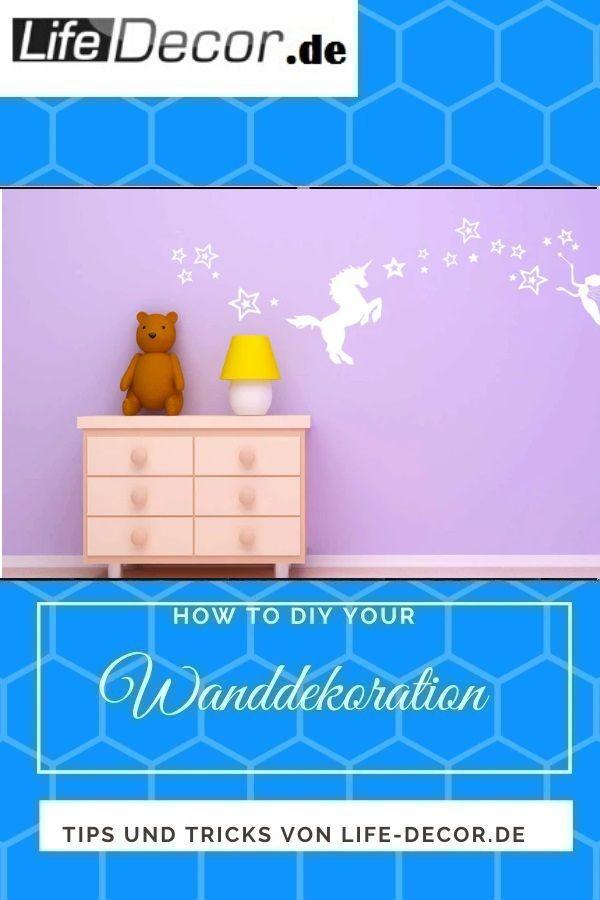 Wandaufkleber  Einhorn 820  Erneuern Sie mit Lifedecor Home Wanddeko Die Wandtattoo Wandsticker helfen Ihnen eine Büro Ecke zu schmücken die Ansprüche eine...