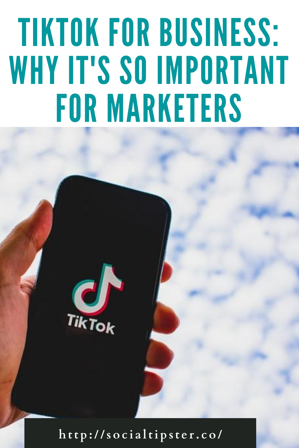 Tiktok For Business Why It S So Important For Marketers Online Marketing Strategies Marketing Strategy Social Media Business