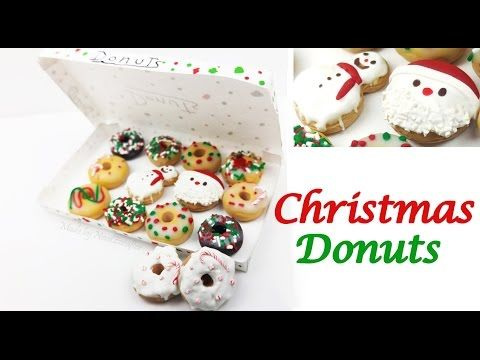 how to: mini Christmas donuts