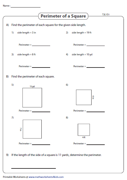 Perimeter Of A Square Integers Type 2 Engage Ny Math Area And Perimeter Solving Word Problems