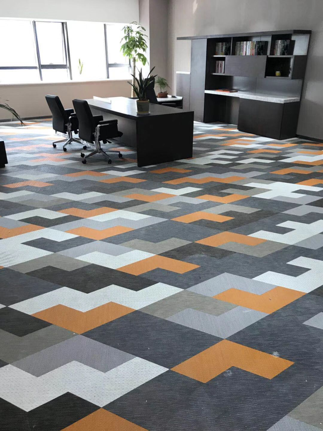 Woven vinyl flooring and tiles from GB textile에 있는 GB