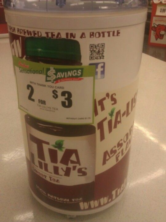 Tia Lillys Available At Select Bashas In Tucson Brewing Tea Tea