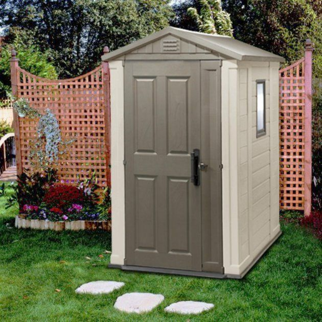 keter apex x ft storage shed garden sheds pinterest