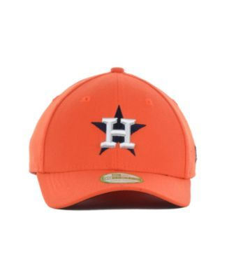 100% authentic 4c7e6 06832 New Era Houston Astros Team Classic 39THIRTY Kids  Cap or Toddlers  Cap -  Orange Youth