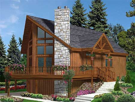 Plan 99915mw Vacation Gem Cottage Plan Cabin House Plans Cabin Plans
