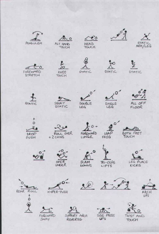 Buy Medicine Ball Exercise Workout Posters Charts For Fitness For