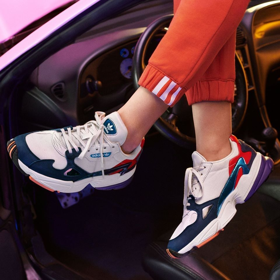 adidas Originals Falcon in 2019 | Dad shoes, Adidas outfit