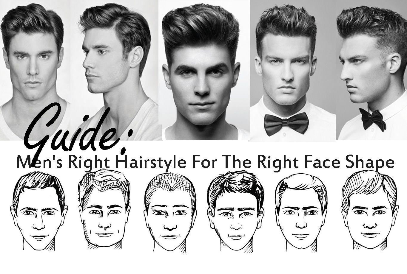 Find The Right Hairstyle For Your Face Cabelo Look Masculinos Masculino