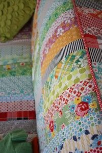 Surprising Quilted Couch Slip Cover With They Had A Tutorial Or Machost Co Dining Chair Design Ideas Machostcouk