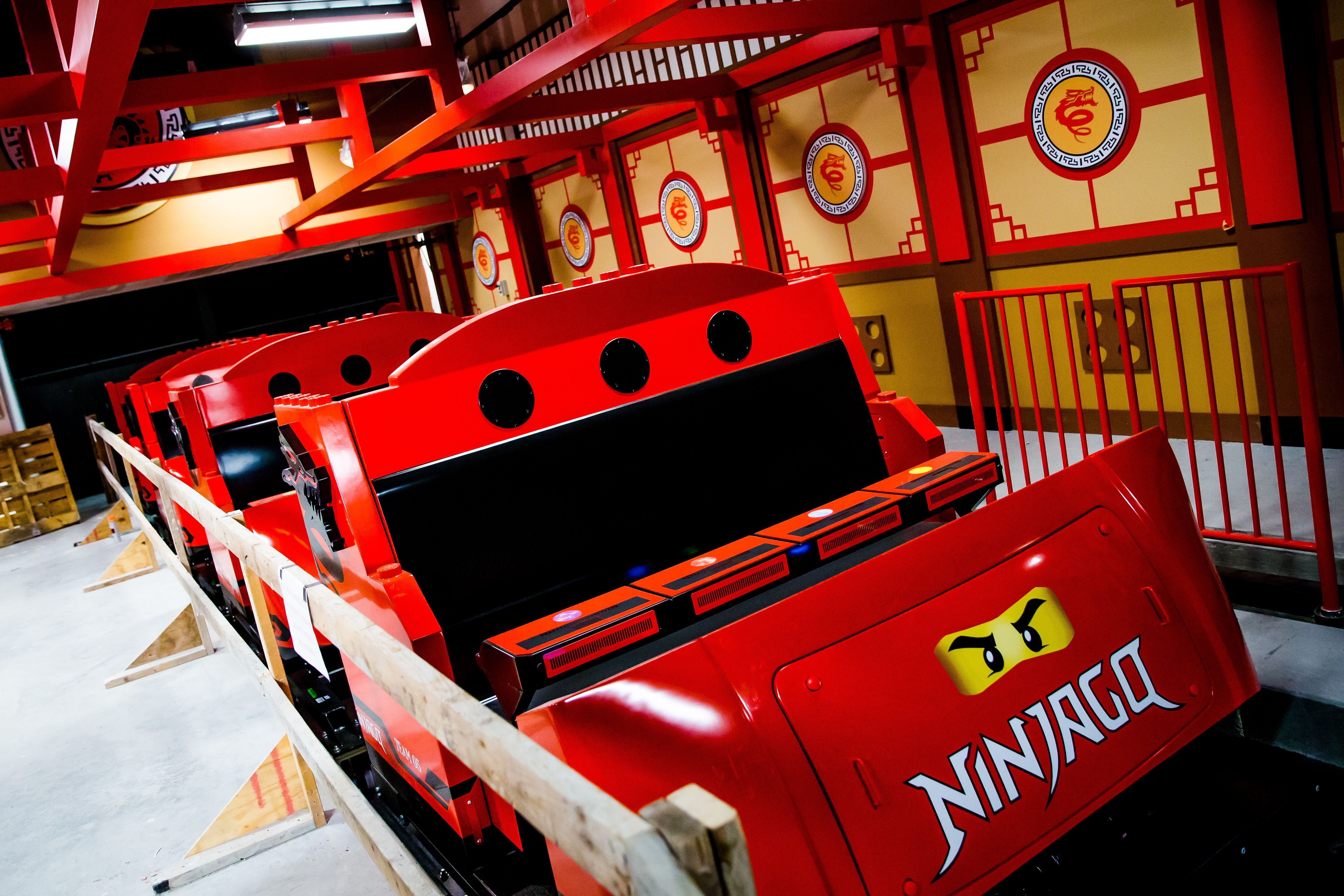 SNEAK PEEK: Train to 'become the ninja' when LEGO® NINJAGO® World opens Jan. 12!
