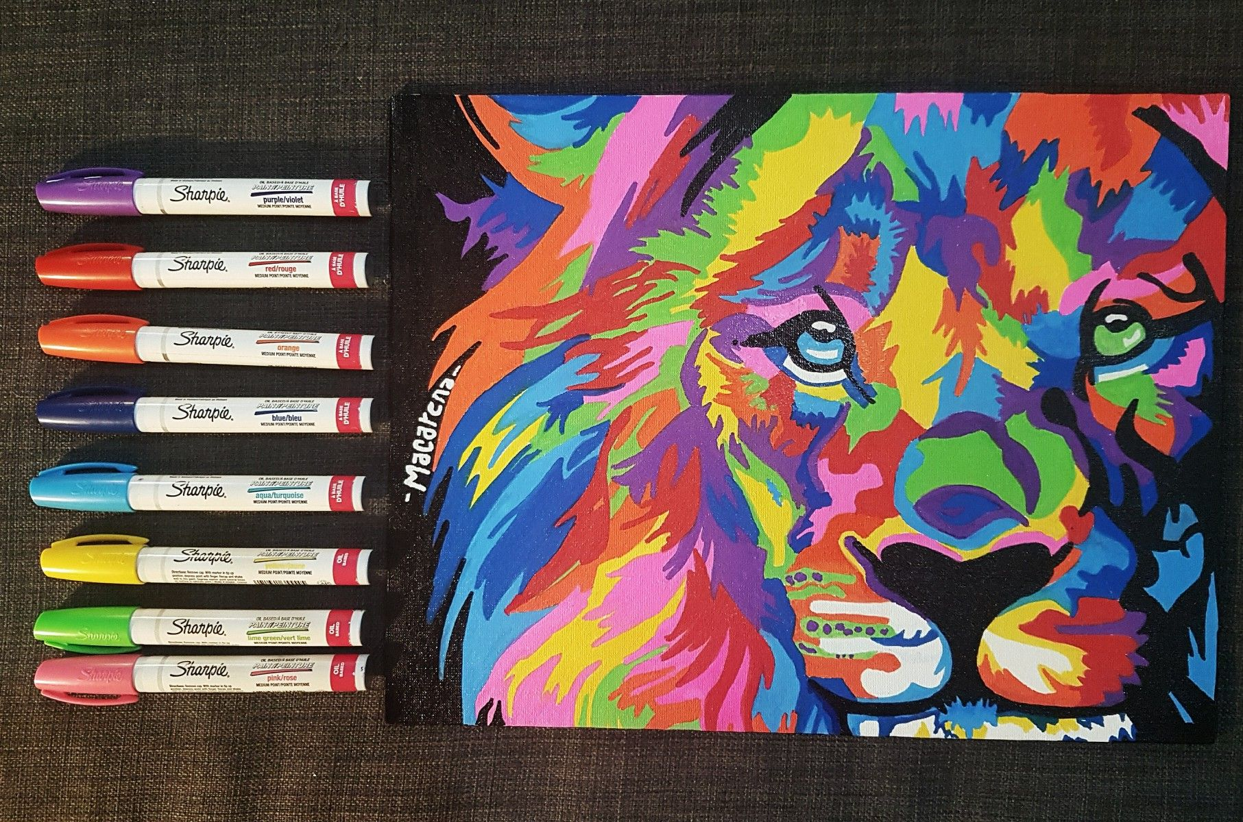 Dibujo Hecho Con Sharpies Oil Dibujos Sharpies