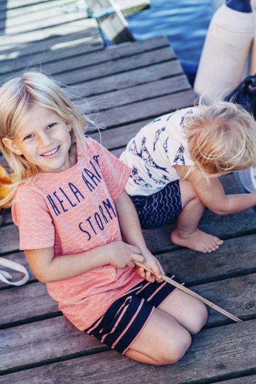 Hela havet stormar. Marina barnkläder från emma och malena, Käringön.