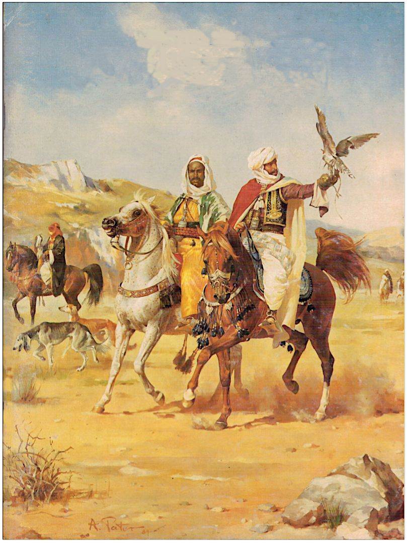 Image result for arab travler painting