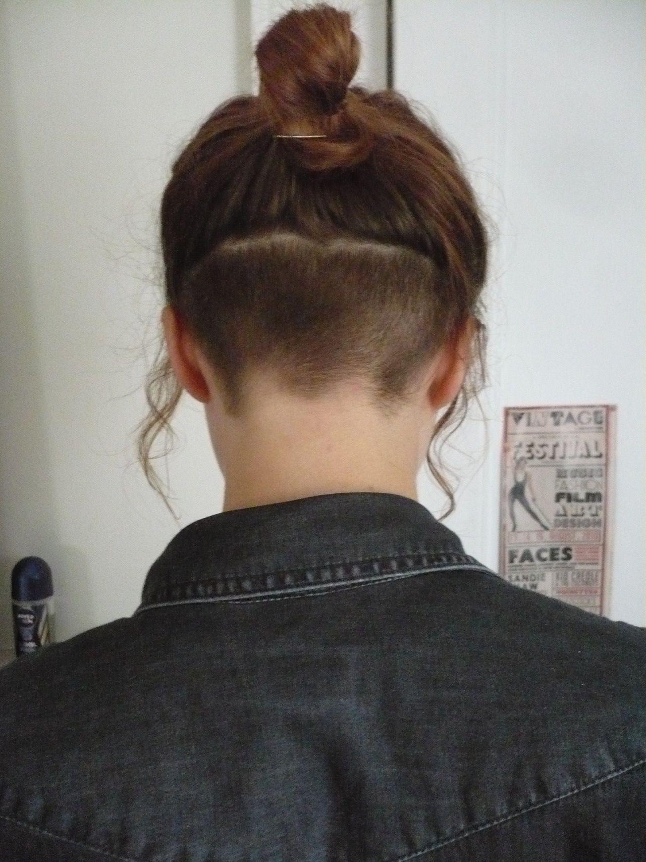 Undercut Pin It By Carden Frisuren Meine Haare