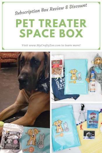 PetTreater Space Box Subscription Box Review, Giveaway