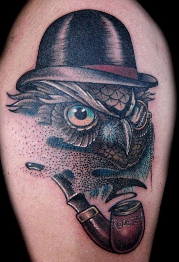 The detective owl